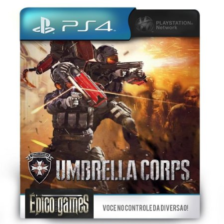 Umbrella Corps - PS4 - Midia Digital