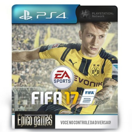 FIFA 17 - Dublado - PS4 - Midia Digital