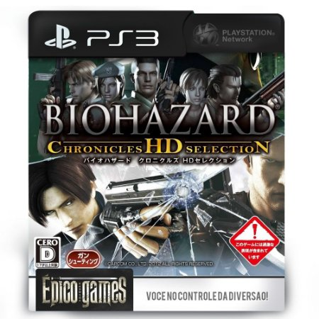 Resident Evil Chronicles HD Collection - PS3 - Midia Digital
