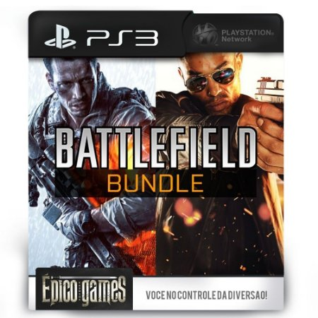 Battlefield 4 + Battlefield Hardline - Bundle - PS3 - Midia Digital