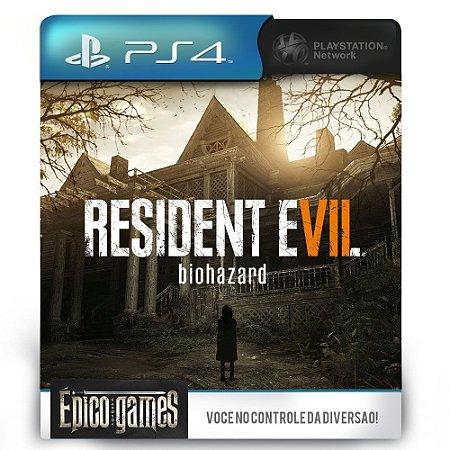 Resident Evil 7 Biohazard - PS4 - Midia Digital