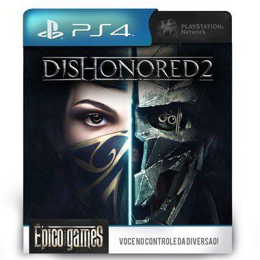 Dishonored 2 - PS4 - Midia Digital