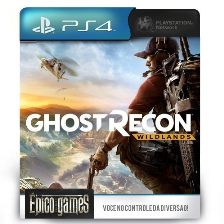 Tom Clancys Ghost Recon Wildlands - PS4 - Mídia Digital