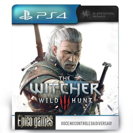 The Witcher 3 Wild Hunt - PS4 - Midia Digital