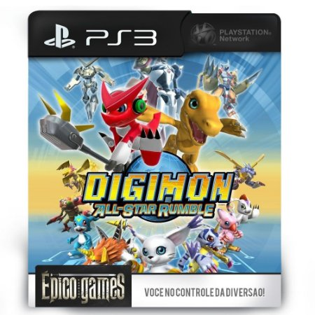 Digimon All Star Rumble - PS3 - Midia Digital