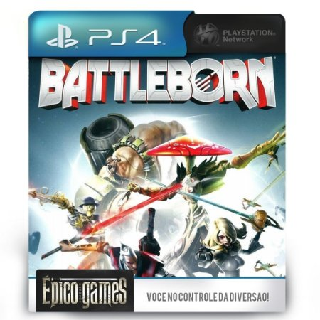 Battleborn - PS4 - Midia Digital