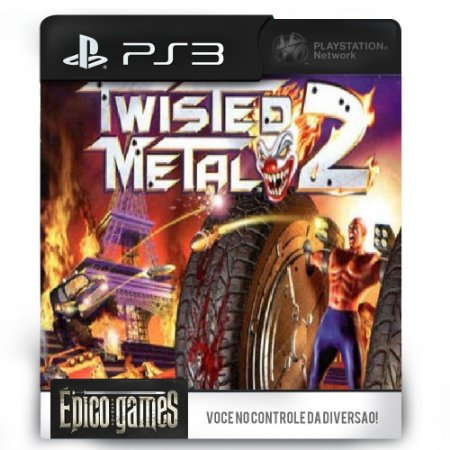 Twisted Metal 2 - PS3 - Midia Digital