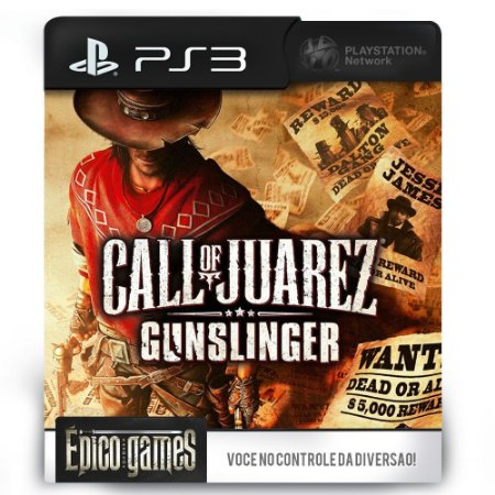 Call Of Juarez - PS3 - Midia Digital