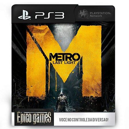 Metro Last Light - PS3 - Midia Digital