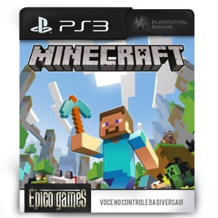 Minecraft - PS3 - Mídia Digital
