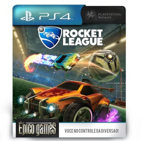 Rocket League - PS4 - Midia Digital