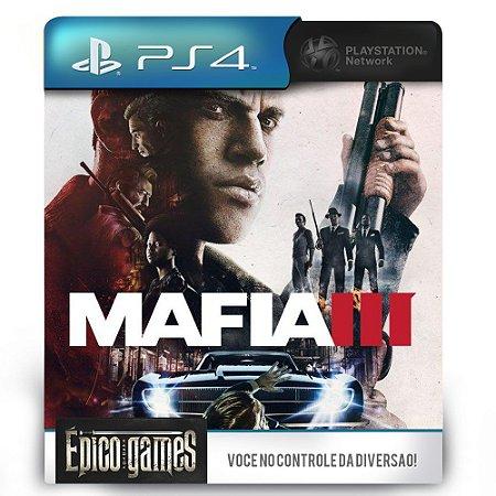 Mafia 3 - PS4 - Midia Digital
