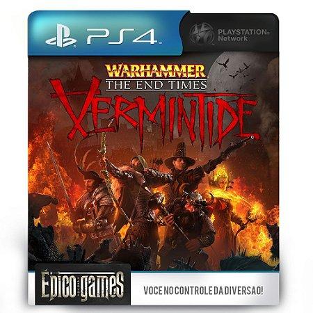 Warhammer End Times - Vermintide - PS4 - Mídia Digital