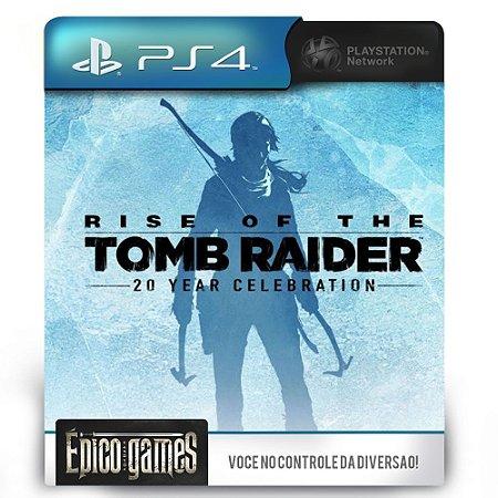 Rise of the Tomb Raider Comemoração de 20 anos - PS4 - Midia Digital