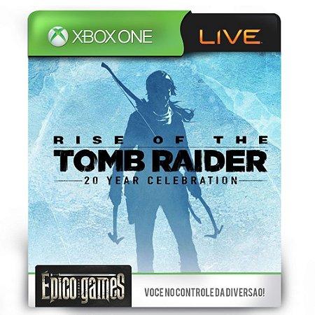 Rise of the Tomb Raider Comemoração de 20 anos - Xbox One - Midia Digital