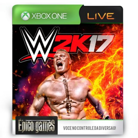 WWE 2K17 - Xbox One - Midia Digital