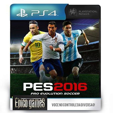 PES 2016 - Pro Evolution Soccer - PS4 - Midia Digital
