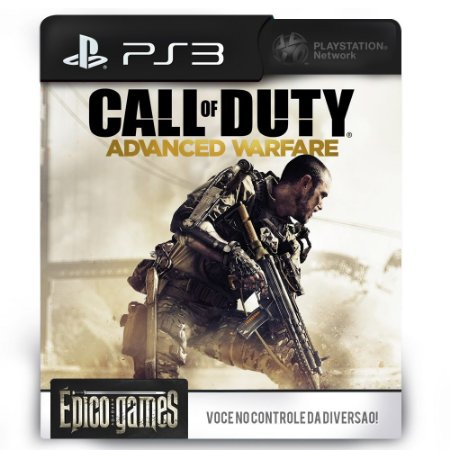 Call of Duty Advanced Warfare - PS3 - Midia Digital