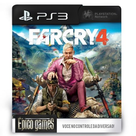 Far Cry 4 - PS3 - Midia Digital