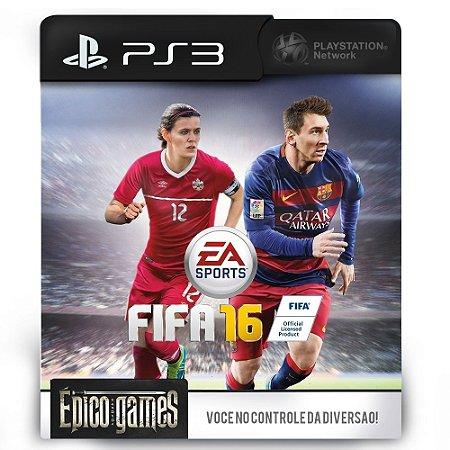 Fifa 16 - PS3 - Midia Digital