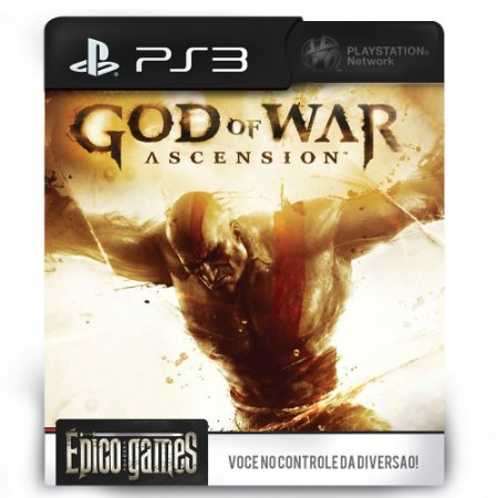 God of War Ascension - PS3 - Mídia Digital