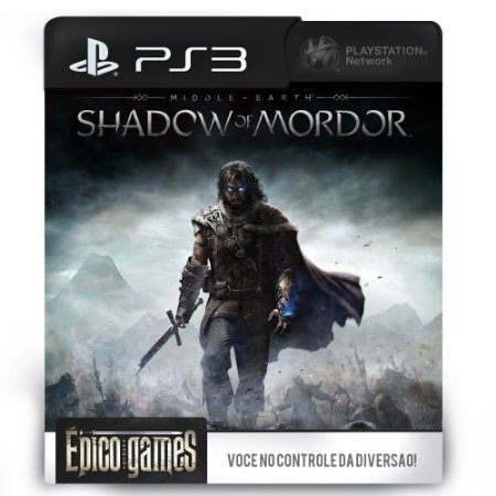 Middle-Earth Shadow of Mordor - PS3 - Midia Digital