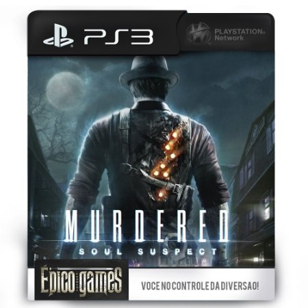 Murdered Soul Suspect - PS3 - Midia Digital