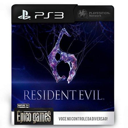 Resident Evil 6 - PS3 - Midia Digital