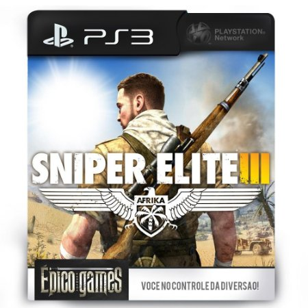 Sniper Elite 3 Ultimate Edition - PS3 - Midia Digital
