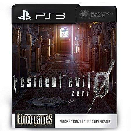 Resident Evil 0 - Zero - PS3 - Midia Digital