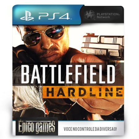 Battlefield Hardline - PS4 - Mídia Digital