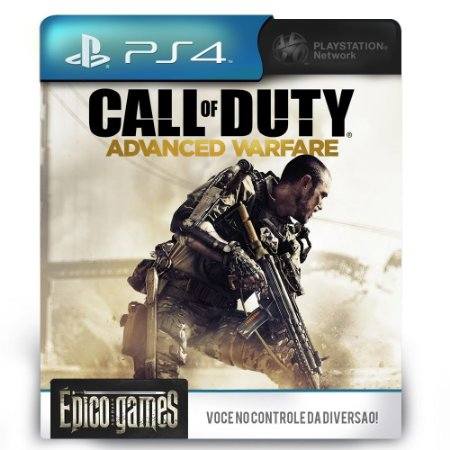 Call of Duty Advanced Warfare - PS4 - Midia Digital