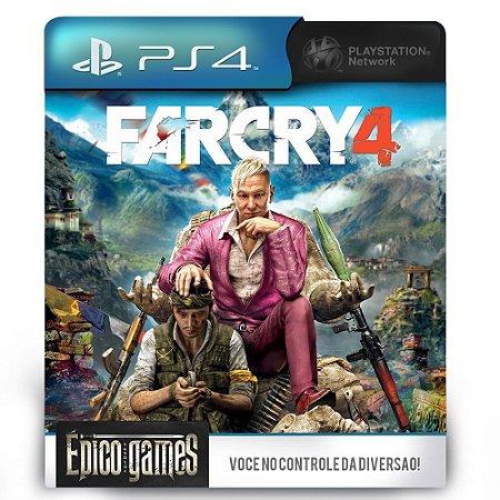 Far Cry 4 - PS4 - Midia Digital