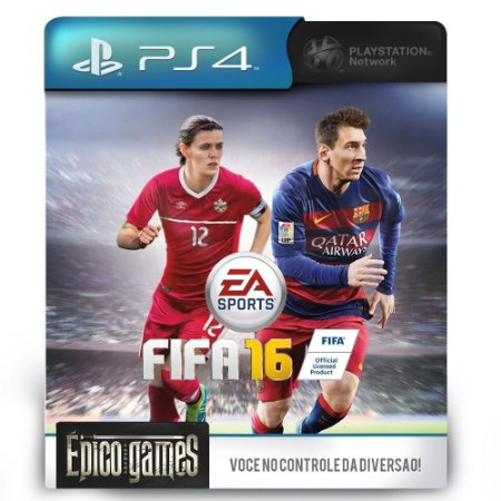 Fifa 16 - PS4 - Midia Digital