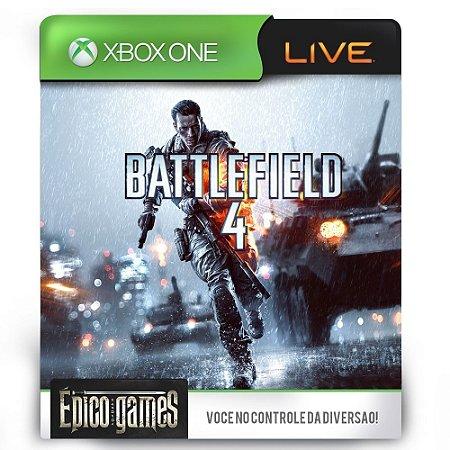 Battlefield 4 - Xbox One - Midia Digital