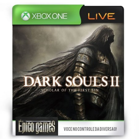 Dark Souls II Scholar of the First Sin - Xbox One - Midia Digital