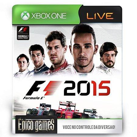 F1 - Formula 1 2015  - Xbox One - Midia Digital