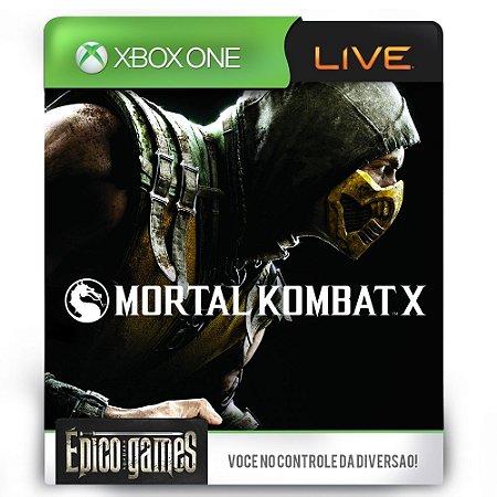 Mortal Kombat X - Xbox One - Midia Digital