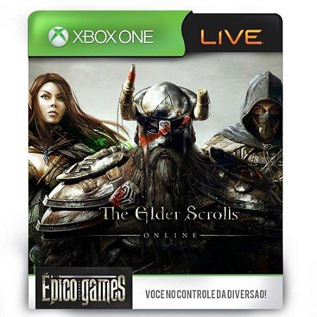 The Elder Scrolls Online Tamriel Unlimited - Xbox One - Midia Digital