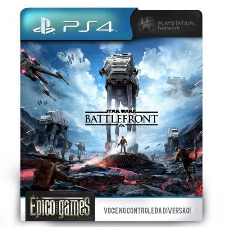Star Wars Battlefront - PS4 - Midia Digital