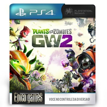 Plants vs. Zombies Garden Warfare 2 - PS4 - Midia Digital