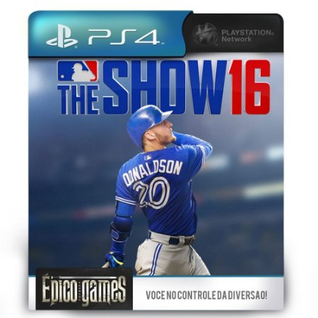 MLB The Show 16 - PS4 - Midia Digital