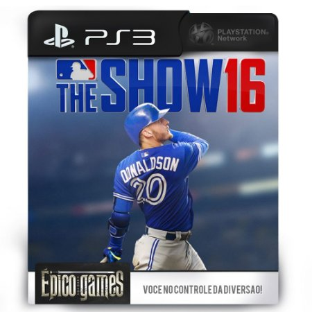 MLB The Show 16 - PS3 - Midia Digital