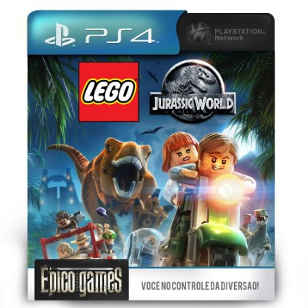 LEGO Jurassic World - PS4 - Midia Digital