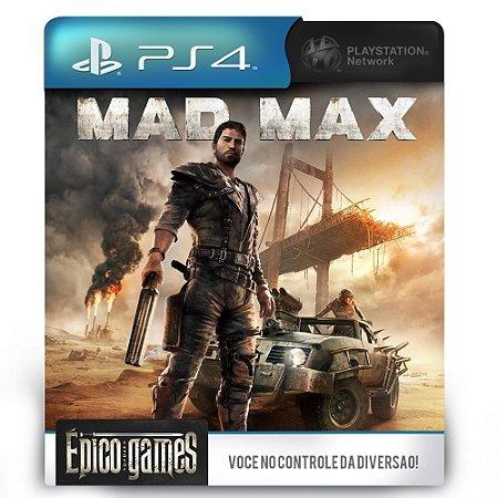 Mad Max - PS4 - Midia Digital