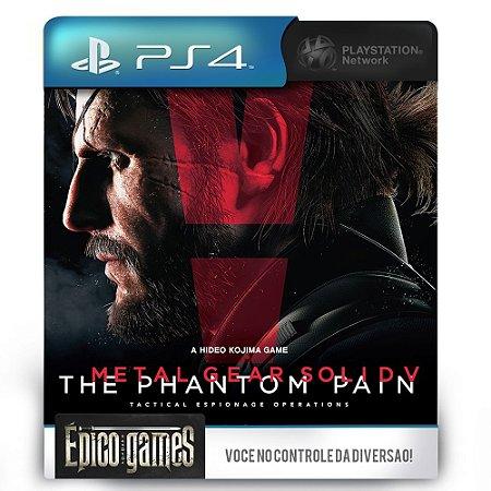 Metal Gear Solid V - The Phantom Pain - PS4 - Midia Digital