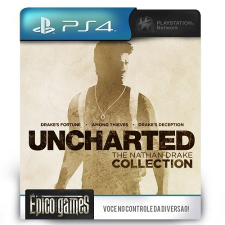 UNCHARTED The Nathan Drake Collection - PS4 - Midia Digital
