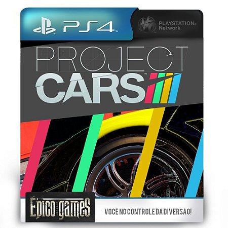 Project CARS - PS4 - Mídia Digital