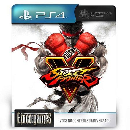 Street Fighter V - PS4 - Mídia Digital