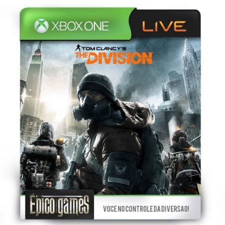 Tom Clancy's The Division - Xbox One - Midia Digital
